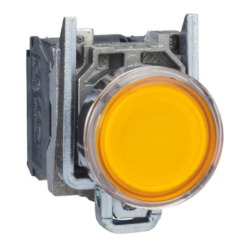شاسی استارت LED دار زرد اشنایدر