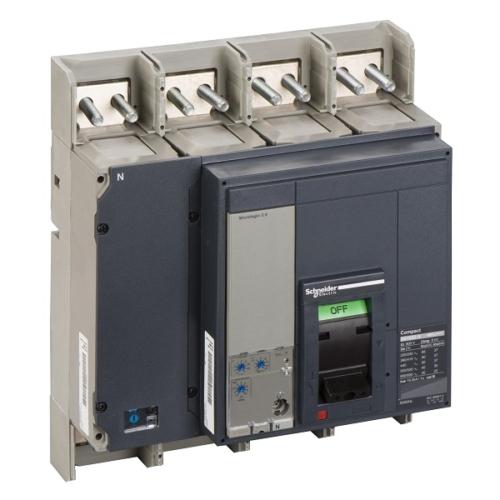 کلید اتوماتیک فیکس 1600 آمپر 4 پل اشنایدر