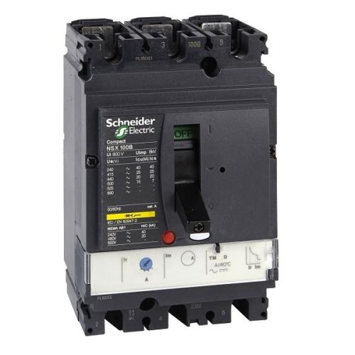 کلید اتوماتیک قابل تنظیم LV429552 اشنایدر